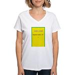 Mini Poster Image 3 Women's V-Neck T-Shirt