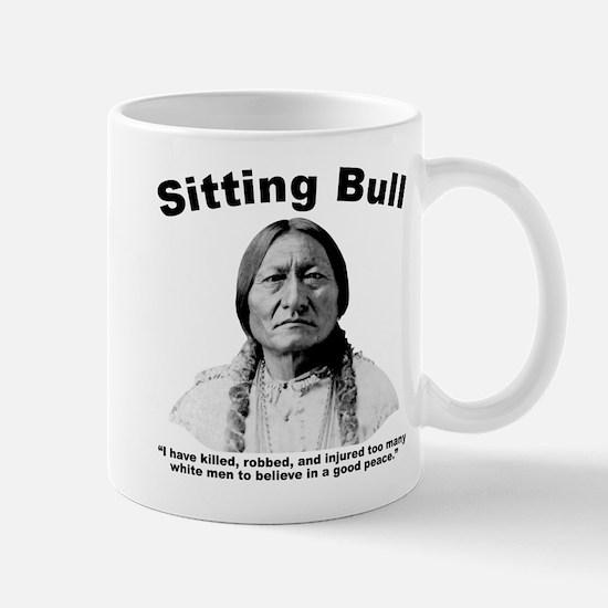 Sitting Bull: NoPeace Mug
