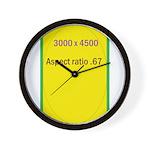 Mini Poster Image 3 Wall Clock