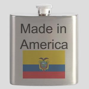 Ecuador is in America Flask