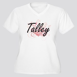 Talley surname artistic design w Plus Size T-Shirt