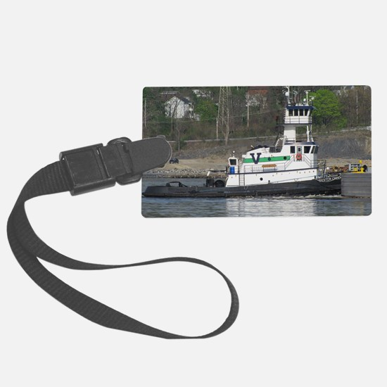 Unique Tug Luggage Tag