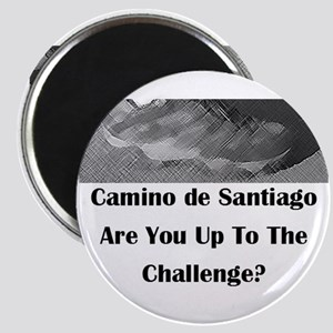 Challenge Of The Camino Round Magnets
