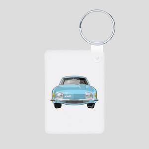 1963 Avanti Aluminum Photo Keychain
