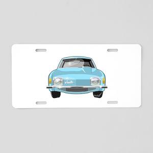 1963 Avanti Aluminum License Plate