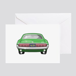 1967 Cougar Greeting Card