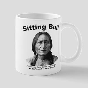Sitting Bull: Lies Mug
