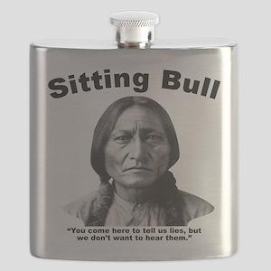 Sitting Bull: Lies Flask