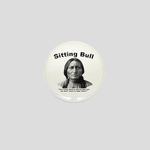 Sitting Bull: Lies Mini Button