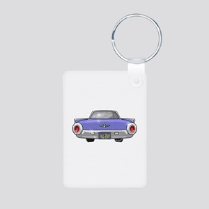 1961 Ford T-Bird Aluminum Photo Keychain