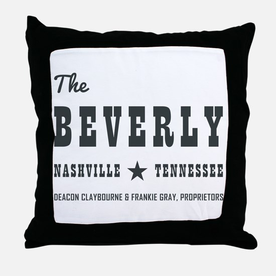 THE BEVERLY Throw Pillow