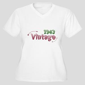 vintage 1943 Plus Size T-Shirt