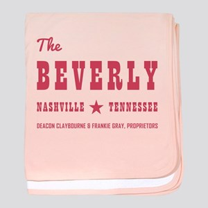 THE BEVERLY baby blanket