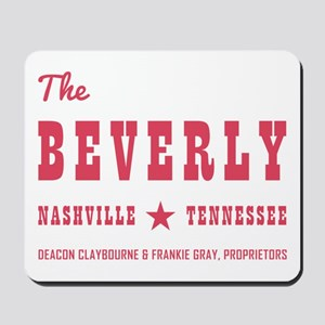 THE BEVERLY Mousepad