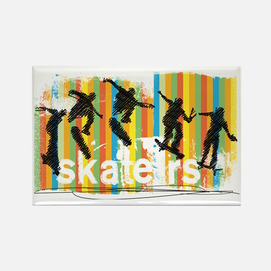 Cute Extreme sports Rectangle Magnet