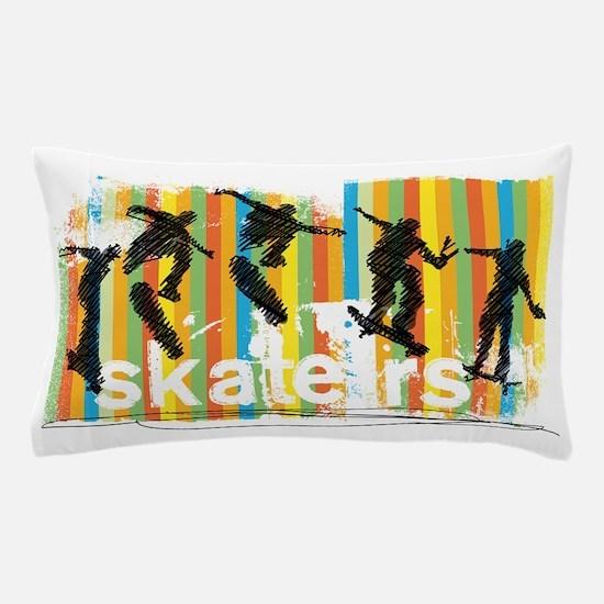 Cute Skateboard Pillow Case