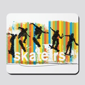 Ink Sketch of Skateboarder Progressive S Mousepad