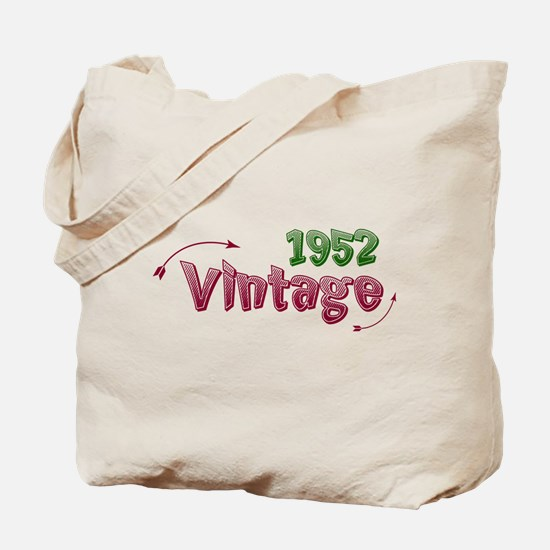 vintage 1952 Tote Bag