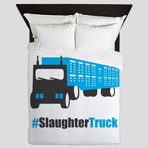 #SlaughterTruck Queen Duvet