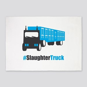 #SlaughterTruck 5'x7'Area Rug