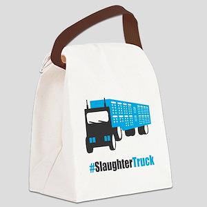 #SlaughterTruck Canvas Lunch Bag
