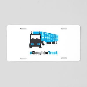 #SlaughterTruck Aluminum License Plate