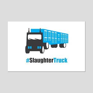 #SlaughterTruck Mini Poster Print