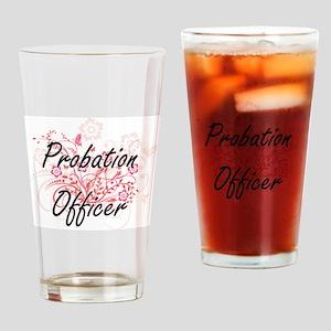 Probation Officer Artistic Job Desi Drinking Glass