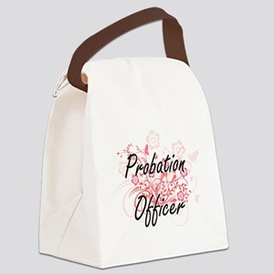 Probation Officer Artistic Job De Canvas Lunch Bag