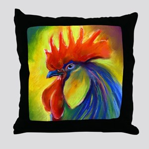 """Rooster Country Throw Pillow 18x18"""""""
