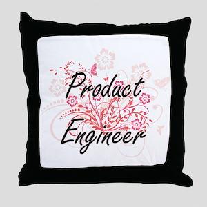 Product Engineer Artistic Job Design Throw Pillow