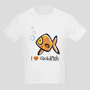 I Love Goldfish Kids Light T-Shirt