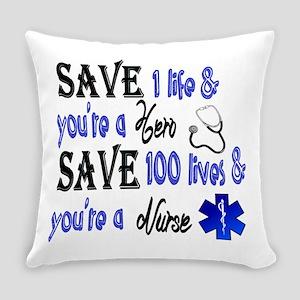 Nurse, Save Everyday Pillow