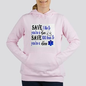 Nurse, Save Women's Hooded Sweatshirt