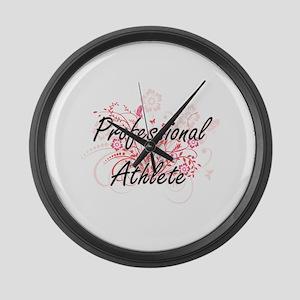 Professional Athlete Artistic Job Large Wall Clock