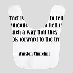 tact:Winston Churchhill Bib