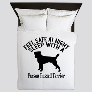 Feel Safe At Night Sleep With Parson R Queen Duvet