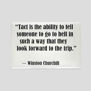 tact:Winston Churchhill Magnets