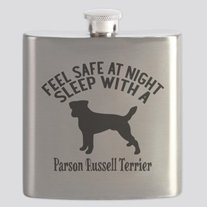 Feel Safe At Night Sleep With Parson Russell Flask