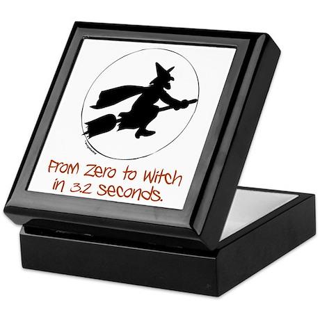 Zero to Witch Keepsake Box