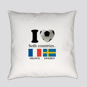 FRANCE-SWEDEN Everyday Pillow