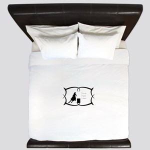 Barrel Racing 3 barrels King Duvet
