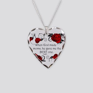 Best mom Necklace Heart Charm