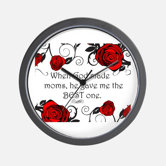 Best mom Wall Clock
