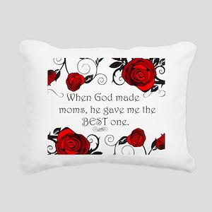 Best mom Rectangular Canvas Pillow