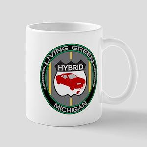 Living Green Hybrid Michigan Mug