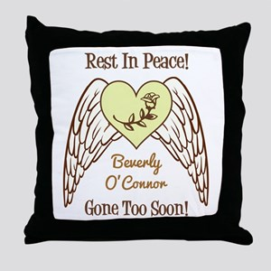REST IN PEACE! Throw Pillow