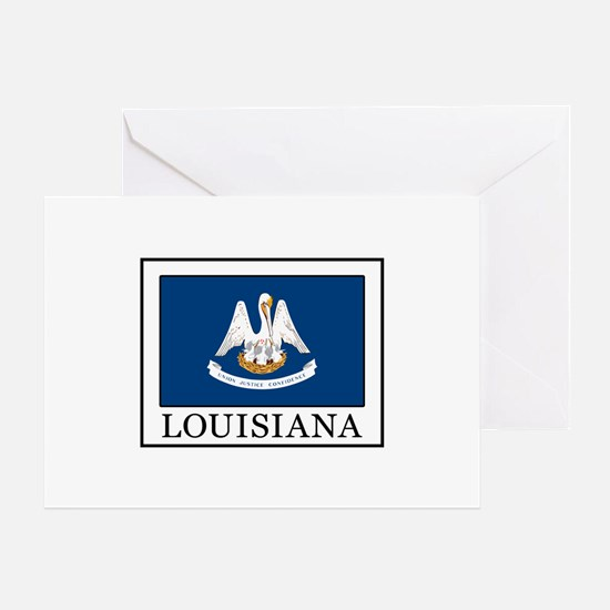 Cute Lake charles louisiana Greeting Card