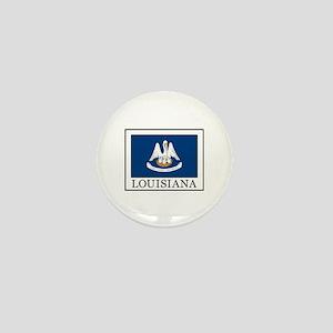 Louisiana Mini Button