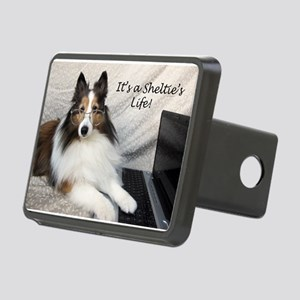 Its a Shelties Life Rectangular Hitch Cover